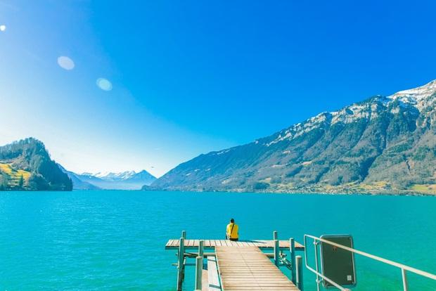 Vũ Khắc Tiệp nhá hàng về hành trình bất ngờ đến 8 địa điểm đắt giá ở Thuỵ Sĩ chỉ vì bộ phim Hạ cánh nơi anh - Ảnh 4.
