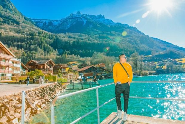 Vũ Khắc Tiệp nhá hàng về hành trình bất ngờ đến 8 địa điểm đắt giá ở Thuỵ Sĩ chỉ vì bộ phim Hạ cánh nơi anh - Ảnh 1.