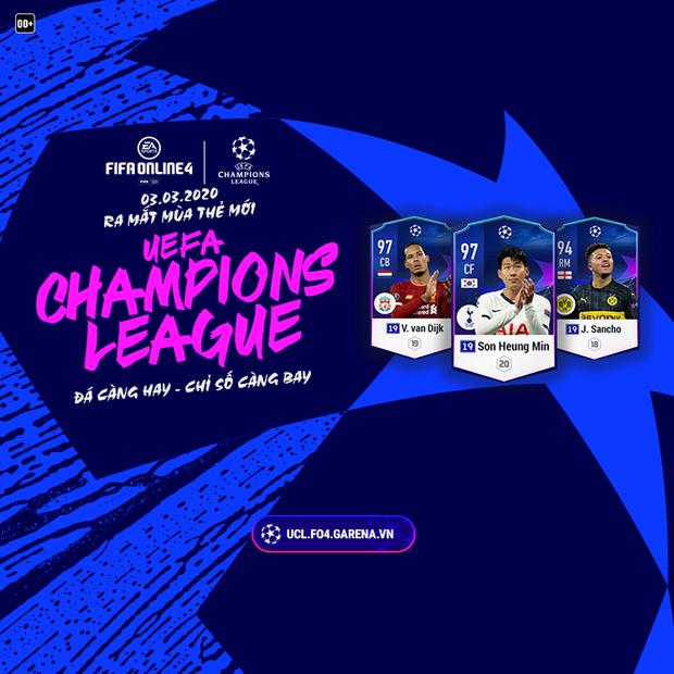 FIFA Online 4 ra mắt mùa thẻ mới 19UCL đậm tính may rủi, phù hợp với game thủ mê đỏ đen! - Ảnh 2.