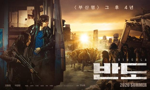 Train To Busan phần 2 tung poster Peninsula, dân tình phát hờn vì Gong Yoo chẳng thèm tái sinh - Ảnh 2.