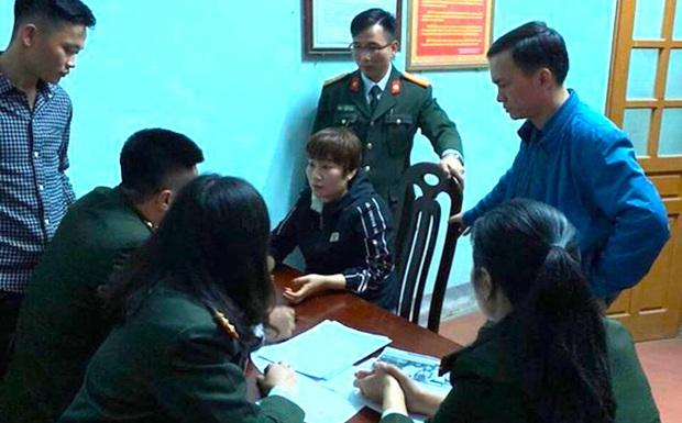 Một phụ nữ tung tin người đi Hàn Quốc về bị nhiễm corona khiến cả xã mất ăn mất ngủ - Ảnh 1.