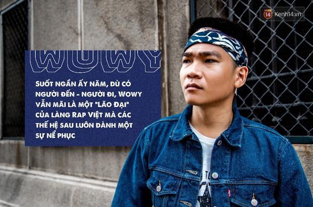 """Wowy - Lão Đại của làng Rap Việt và câu thần chú """"Có cố gắng có thành công"""" - Ảnh 1."""