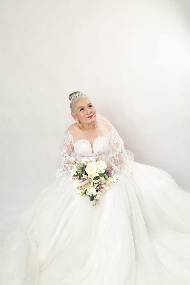Bộ ảnh cưới đặc biệt của hai cụ già U80 khiến dân mạng nhiệt tình thả tim - Ảnh 3.