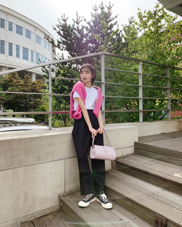 Cô nàng Jiwoo người Hàn cao đúng mét rưỡi mà nhìn lúc nào cũng như mét 6 nhờ 4 chiêu thức đơn giản mà xịn ra trò - Ảnh 3.