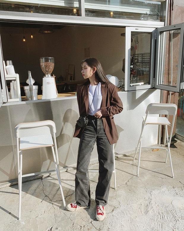 Cô nàng Jiwoo người Hàn cao đúng mét rưỡi mà nhìn lúc nào cũng như mét 6 nhờ 4 chiêu thức đơn giản mà xịn ra trò - Ảnh 5.