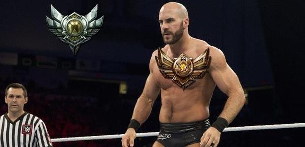 Ngôi sao đấu vật WWE Cesaro - Hùng hổ trên võ đài là thế, nhưng chơi LMHT 150 trận vẫn Đồng 3 - Ảnh 6.
