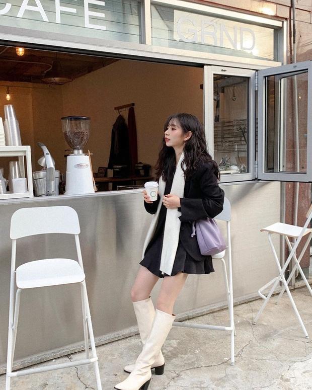 Cô nàng Jiwoo người Hàn cao đúng mét rưỡi mà nhìn lúc nào cũng như mét 6 nhờ 4 chiêu thức đơn giản mà xịn ra trò - Ảnh 8.
