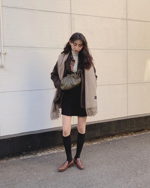Cô nàng Jiwoo người Hàn cao đúng mét rưỡi mà nhìn lúc nào cũng như mét 6 nhờ 4 chiêu thức đơn giản mà xịn ra trò - Ảnh 9.