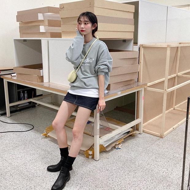 Cô nàng Jiwoo người Hàn cao đúng mét rưỡi mà nhìn lúc nào cũng như mét 6 nhờ 4 chiêu thức đơn giản mà xịn ra trò - Ảnh 10.