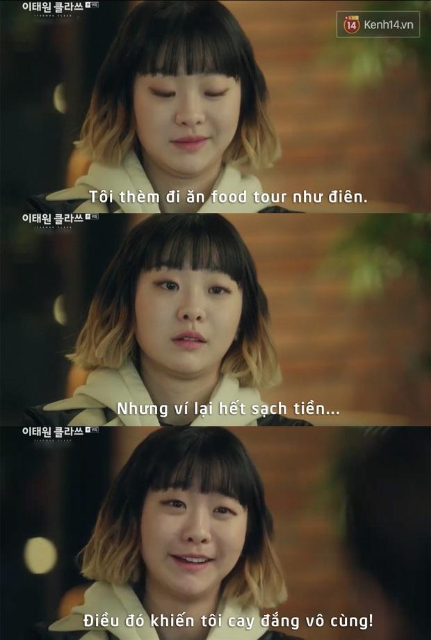 Câu thoại chất nhất tập 9 Tầng Lớp Itaewon của điên nữ ngờ đâu lại chính là cảm hứng cho biết bao nỗi lòng của các tín đồ ăn uống tuôn trào - Ảnh 4.