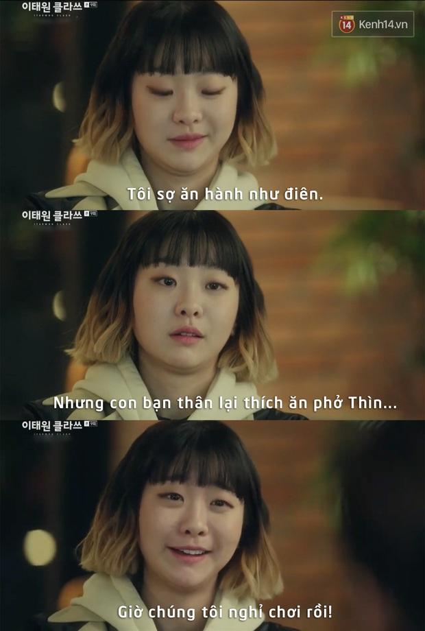Câu thoại chất nhất tập 9 Tầng Lớp Itaewon của điên nữ ngờ đâu lại chính là cảm hứng cho biết bao nỗi lòng của các tín đồ ăn uống tuôn trào - Ảnh 8.