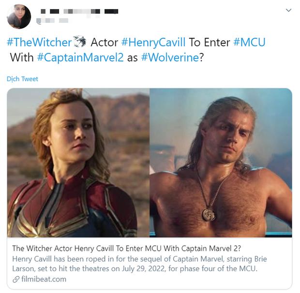 Marvel âm mưu đưa trai đẹp của The Witcher vào vũ trụ bằng Captain Marvel 2: Còn gì nữa là spotlight của Brie Larson? - Ảnh 5.
