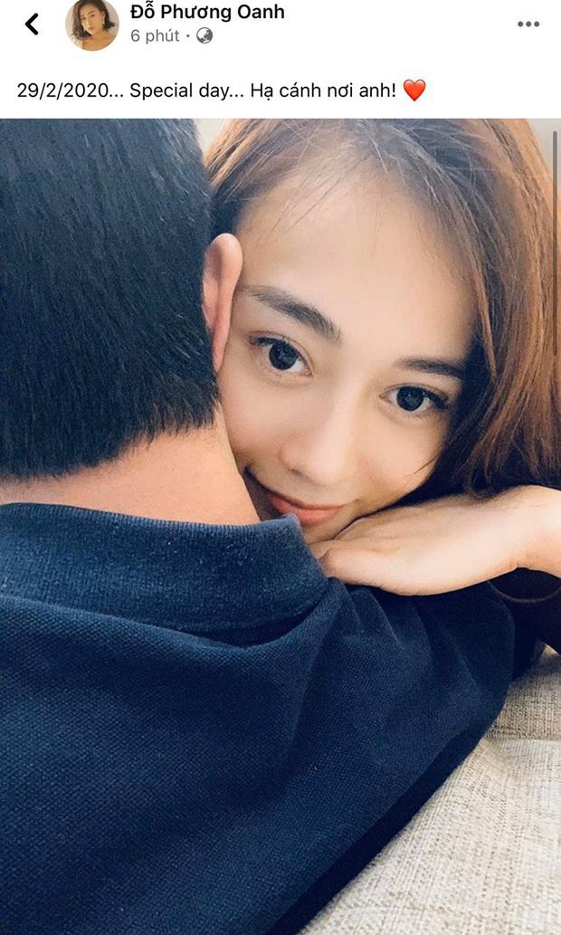 Phương Oanh Quỳnh búp bê đăng ảnh bạn trai giấu mặt, chính thức thoát ế hậu công khai thẩm mỹ nhan sắc - Ảnh 2.