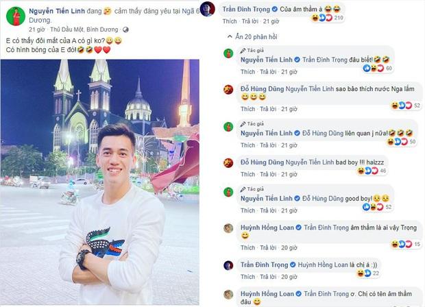 Tiền đạo U23 Việt Nam liên tục thả thính nữ diễn viên từng đóng MV với Sơn Tùng M-TP: Sắp có chuyện tình cầu thủ - chân dài showbiz nữa sao? - Ảnh 1.