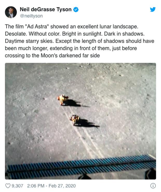 Nhà thiên văn học bắt lỗi Ad Astra của Brad Pitt: Tại sao trên mặt trăng lại có... cướp? - Ảnh 7.