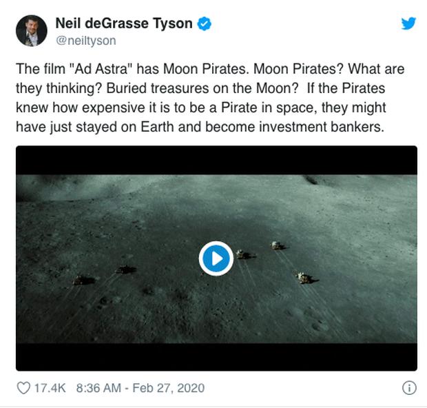 Nhà thiên văn học bắt lỗi Ad Astra của Brad Pitt: Tại sao trên mặt trăng lại có... cướp? - Ảnh 5.