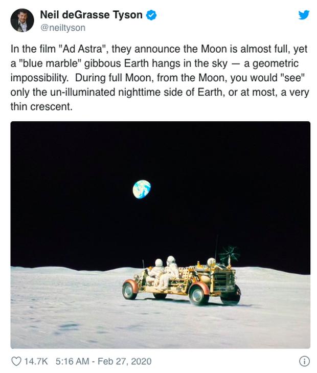 Nhà thiên văn học bắt lỗi Ad Astra của Brad Pitt: Tại sao trên mặt trăng lại có... cướp? - Ảnh 4.