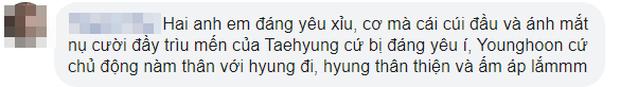 """Được V (BTS) cúi đầu chào, mỹ nam The Boyz """"vỡ òa"""" sung sướng, bật chế độ fanboy khiến fan xuýt xoa vì quá đáng yêu - Ảnh 4."""