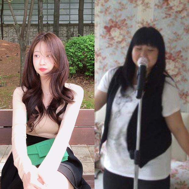 Từng đạt ngưỡng 101kg, cô bạn người Hàn có màn vịt hóa thiên nga khi giảm liền một mạch xuống 48kg - Ảnh 1.