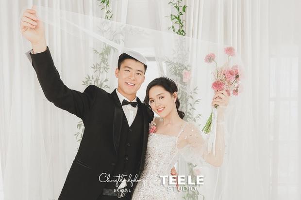 Bộ ảnh cưới cực độc của Duy Mạnh và Quỳnh Anh: Siêu ngọt, đầy tinh thần tuyển Việt Nam và ý nghĩa đặc biệt đằng sau đó - Ảnh 6.