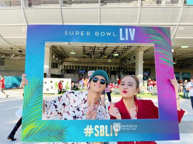 Hoàng Thùy Linh - Trọng Hiếu quẩy tới bến trước màn song ca huyền thoại của Jennifer Lopez và Shakira tại Super Bowl 2020 - Ảnh 7.