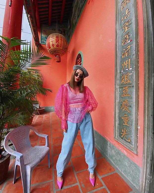 Street style sao Việt sau Tết: Diệp Lâm Anh sexy và chơi ăn đứt hội gái son, Lynk Lee ngày một điệu đà hậu PTTM - Ảnh 7.