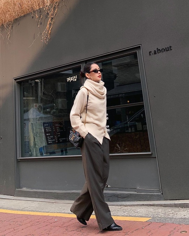 Street style sao Việt sau Tết: Diệp Lâm Anh sexy và chơi ăn đứt hội gái son, Lynk Lee ngày một điệu đà hậu PTTM - Ảnh 9.