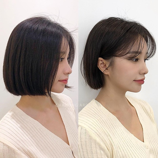 Chùm ảnh lột xác chứng minh sự vi diệu của tóc mái: Hack tuổi thì rõ rồi, nhưng còn che trán thưa hói, nâng tầm nhan sắc tài tình - Ảnh 10.