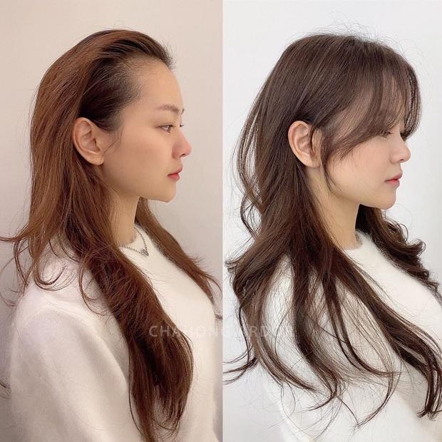 Chùm ảnh lột xác chứng minh sự vi diệu của tóc mái: Hack tuổi thì rõ rồi, nhưng còn che trán thưa hói, nâng tầm nhan sắc tài tình - Ảnh 1.