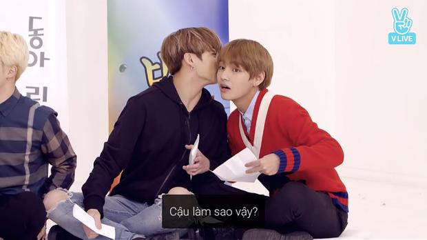 Loạt khoảnh khắc tình bể bình của bộ đôi mỹ nam V & Jungkook (BTS) khiến fan bấn loạn trên show thực tế! - Ảnh 2.