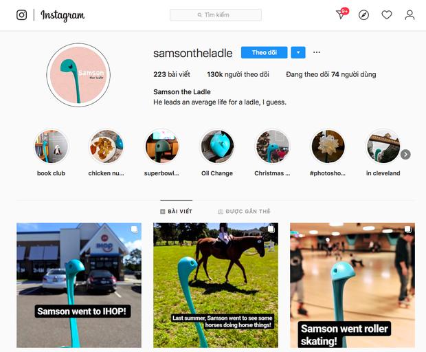 Ai ngờ một chiếc muôi múc canh có thể trở thành… ngôi sao Instagram với hơn 130k người theo dõi: thế giới thật khó hiểu! - Ảnh 1.