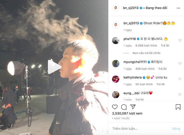 Phó Chủ tịch Park Seo Joon để tóc ướt test thử thời tiết lạnh buốt óc ở Hàn và cái kết bốc khói theo đúng nghĩa đen - Ảnh 3.