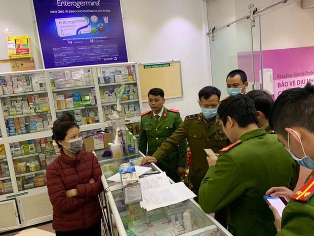 3 ngày công an Hà Nội xử lý 41 cửa hàng thuốc bán khẩu trang chặt chém người dân giữa đại dịch Corona - Ảnh 2.