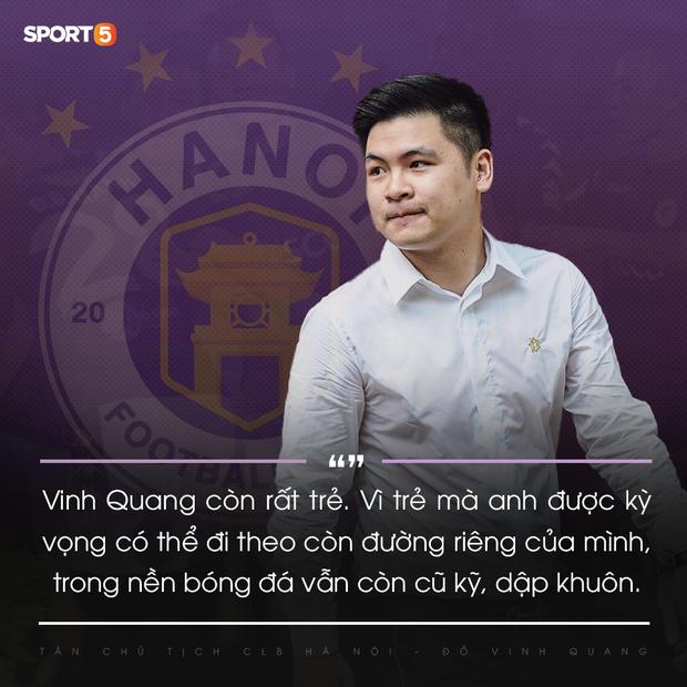 Tân Chủ tịch 9x của Hà Nội FC: Hành trình mới xoá mác công tử và thể hiện uy quyền của người trẻ - Ảnh 2.