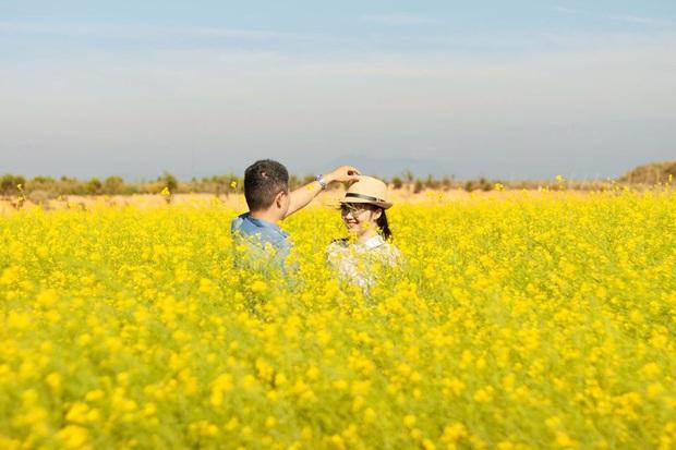 Dân mạng sửng sốt trước cánh đồng hoa cải vàng đẹp như tranh vẽ có thật tại Đà Lạt, xem ảnh mà ngỡ đâu nước Nhật xa xôi - Ảnh 7.