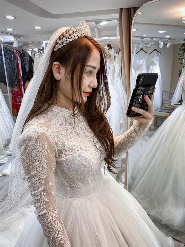 Sửng sốt hot girl streamer quốc dân Kiều Anh Hera bất ngờ khoe ảnh mặc váy cưới, cô nàng sắp lên xe hoa? - Ảnh 3.