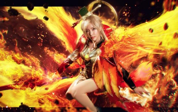 Bỏng mắt với bộ hình cosplay của nữ game thủ Liên Quân Mobile xứ Thái, Butterfly xinh thế này thì ai nỡ đánh - Ảnh 1.