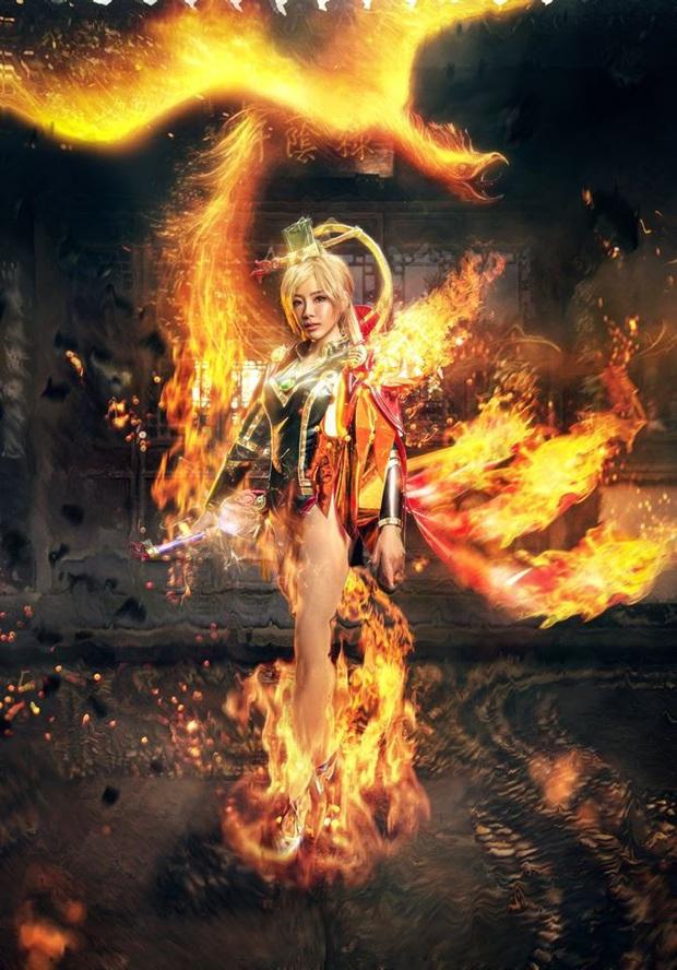 Bỏng mắt với bộ hình cosplay của nữ game thủ Liên Quân Mobile xứ Thái, Butterfly xinh thế này thì ai nỡ đánh - Ảnh 14.