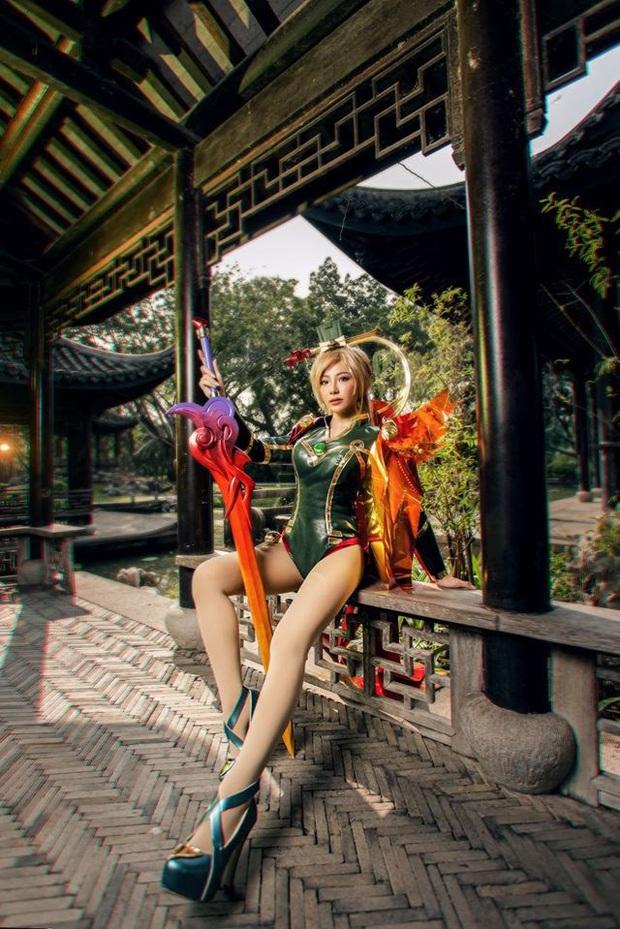 Bỏng mắt với bộ hình cosplay của nữ game thủ Liên Quân Mobile xứ Thái, Butterfly xinh thế này thì ai nỡ đánh - Ảnh 6.
