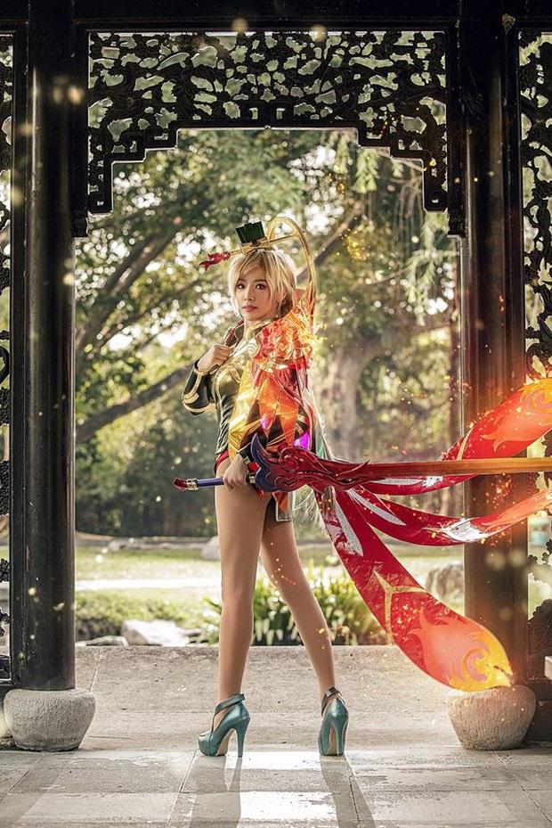 Bỏng mắt với bộ hình cosplay của nữ game thủ Liên Quân Mobile xứ Thái, Butterfly xinh thế này thì ai nỡ đánh - Ảnh 10.