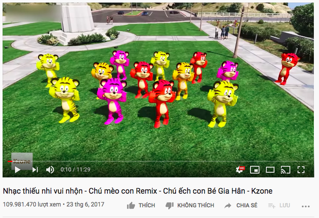 Khi nhạc bé trùm mới là thế lực thống trị YouTube: Video nào cũng từ chục đến trăm triệu view, các ngôi sao Vpop ra chuồng gà hết! - Ảnh 12.