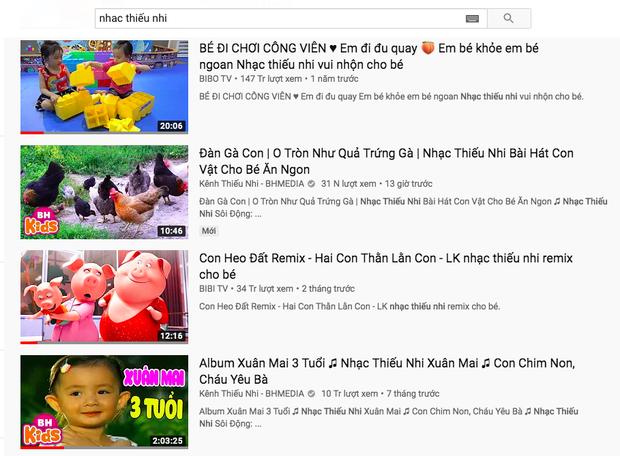 Khi nhạc bé trùm mới là thế lực thống trị YouTube: Video nào cũng từ chục đến trăm triệu view, các ngôi sao Vpop ra chuồng gà hết! - Ảnh 2.