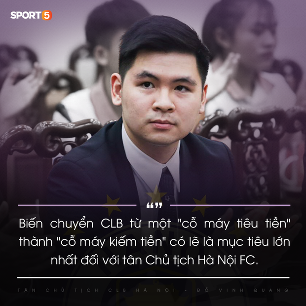 Tân Chủ tịch 9x của Hà Nội FC: Hành trình mới xoá mác công tử và thể hiện uy quyền của người trẻ - Ảnh 5.