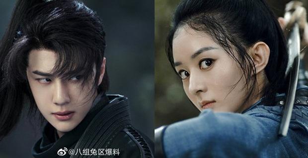 Loạt ảnh hậu trường không đeo khẩu trang của Triệu Lệ Dĩnh - Vương Nhất Bác ở bộ phim Hữu Phỉ - Ảnh 1.