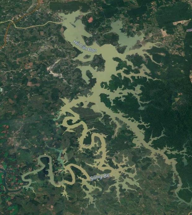 Dân mạng thích thú với dòng sông ở Việt Nam nhìn như chú rồng khổng lồ được du khách nước ngoài vô tình chụp được trên máy bay - Ảnh 2.