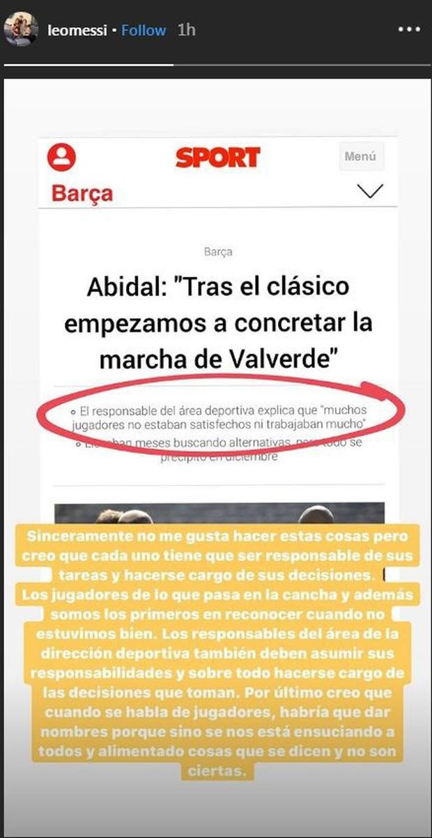 Giám đốc Barca vạ miệng, khiến Messi phải đăng đàn chỉ trích dù người đó từng là đồng đội cũ - Ảnh 2.
