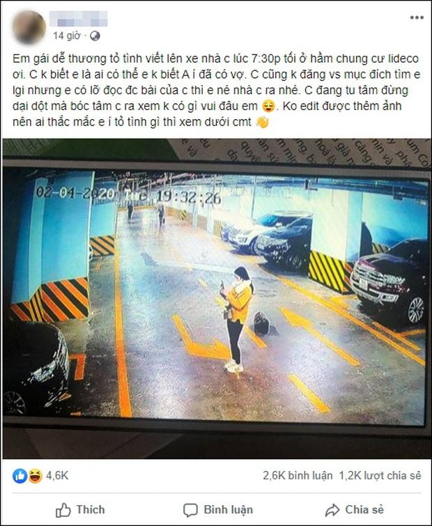 Xôn xao câu chuyện cô gái viết lời làm quen trên xế sang Audi, bị vợ chủ xe chụp luôn ảnh, đăng lên mạng dằn mặt cực gắt - Ảnh 1.