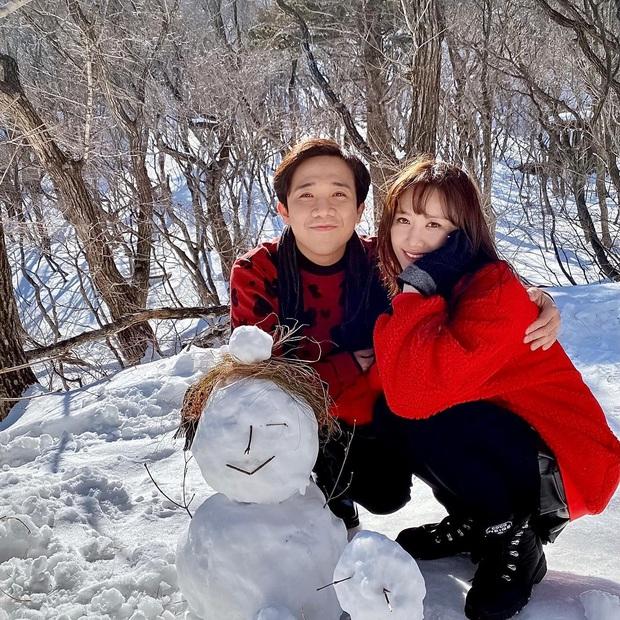 Hari Won khoe loạt ảnh cực ngọt tại Hàn mừng sinh nhật Trấn Thành, chỉ một lời chúc cũng làm bao người ngưỡng mộ! - Ảnh 1.