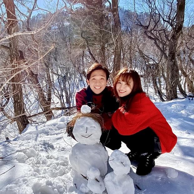 Hari Won khoe loạt ảnh cực ngọt tại Hàn mừng sinh nhật Trấn Thành, chỉ một lời chúc cũng làm bao người ngưỡng mộ! - Ảnh 3.