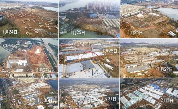 Trung Quốc xây bệnh viện chống dịch virus corona trong 10 ngày, và video này sẽ cho bạn thấy họ làm được điều tuyệt diệu ấy như thế nào - Ảnh 4.